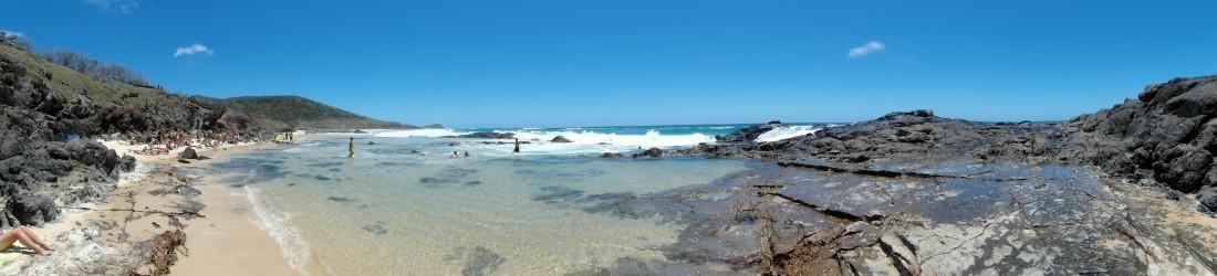 Fraser Island, champagne pools